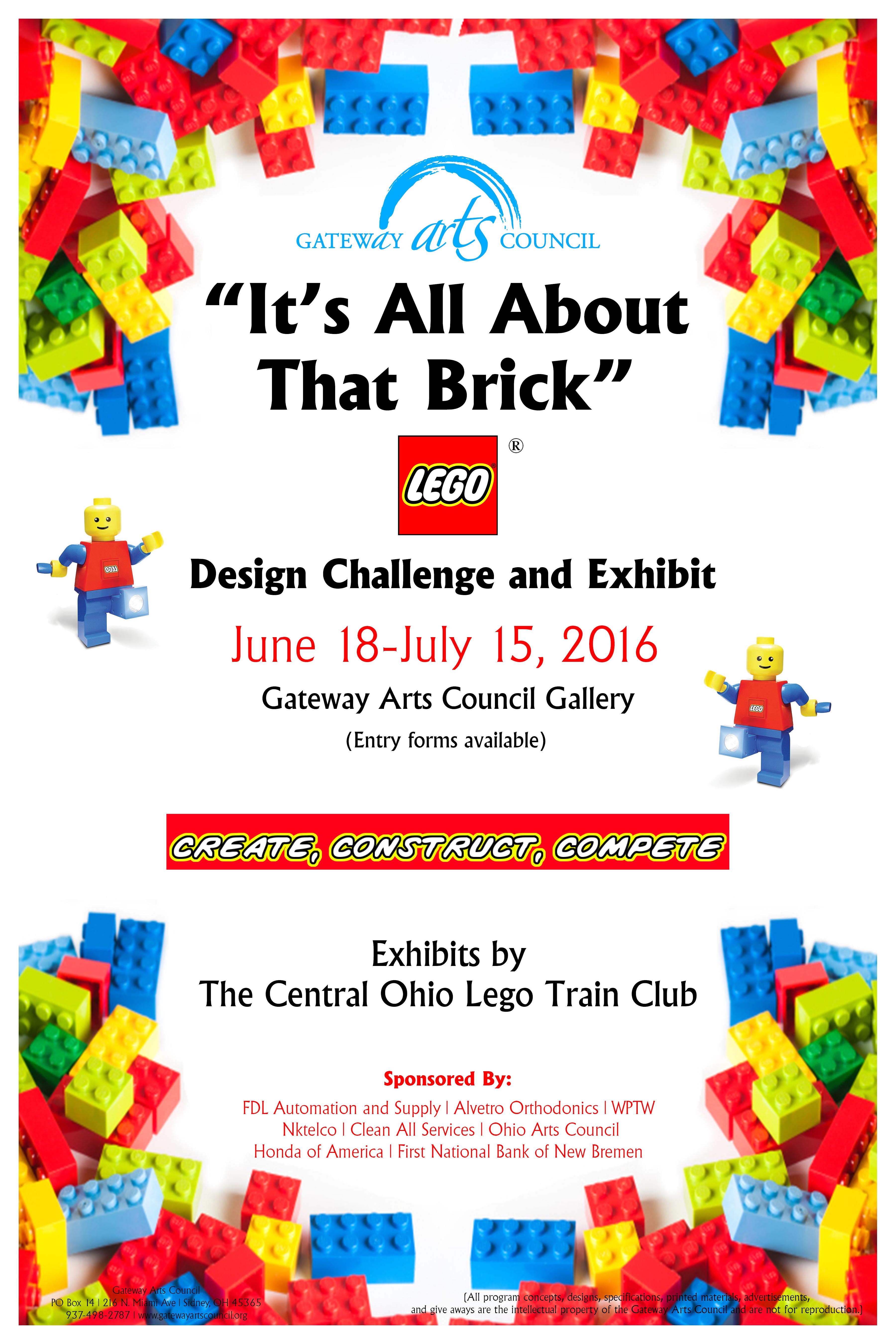Poster design challenge - Lego Poster 2 Jpg2016