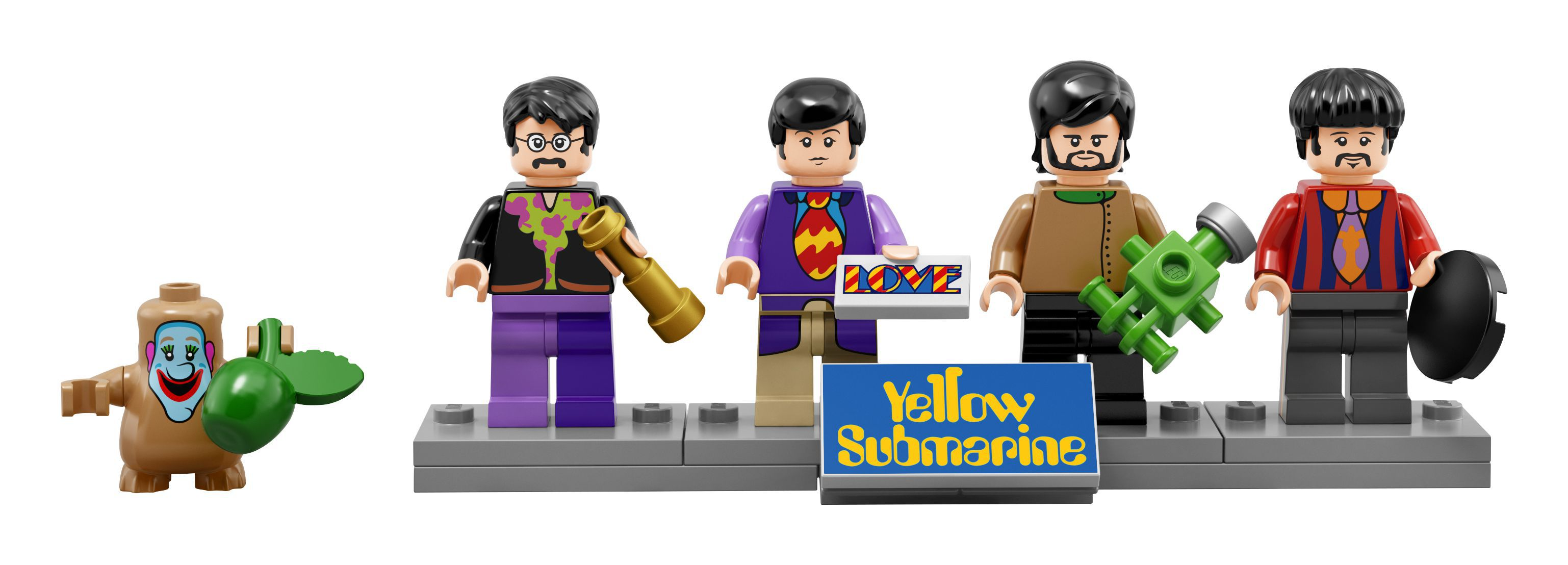 LEGO celebrates The Beatles with Yellow Submarine tribute set, movie