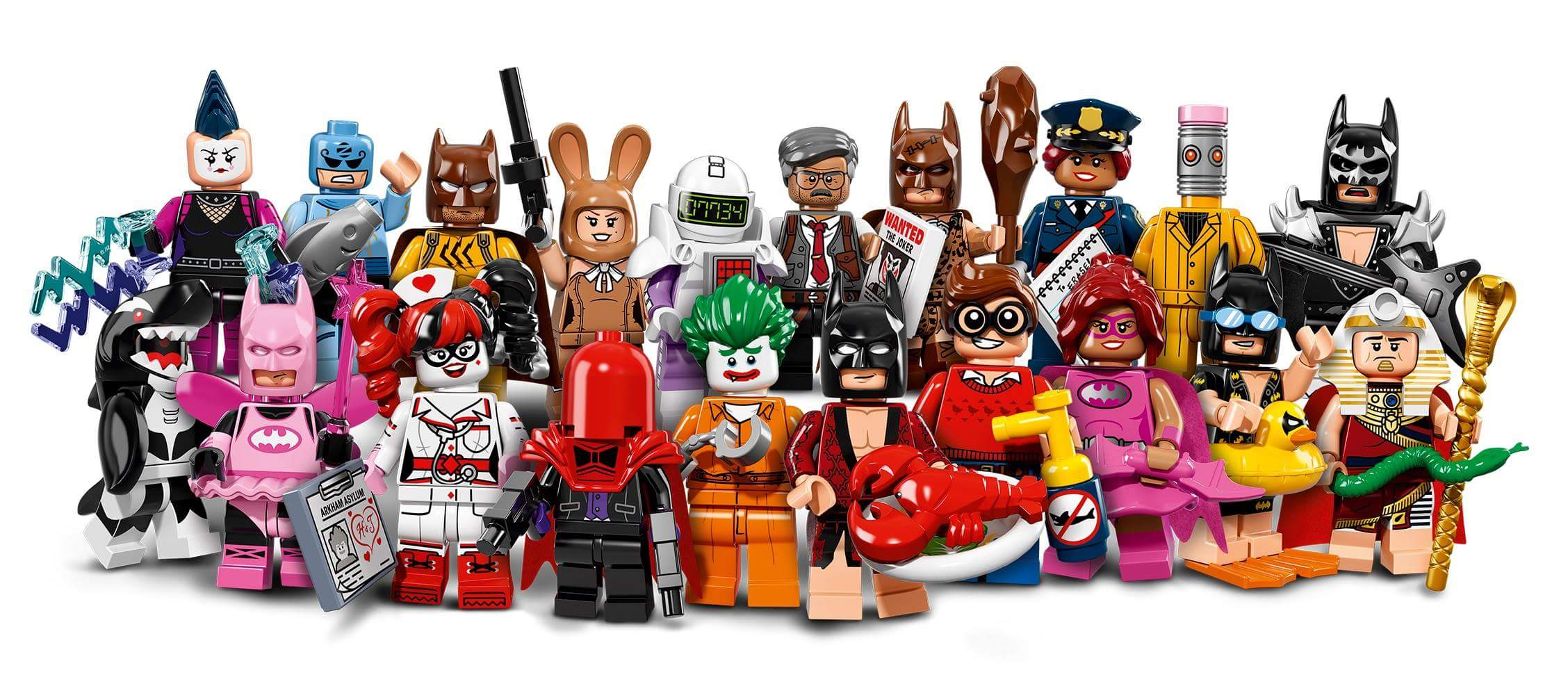 The LEGO Batman Movie Collectable Minifig Series! Available January 2017!