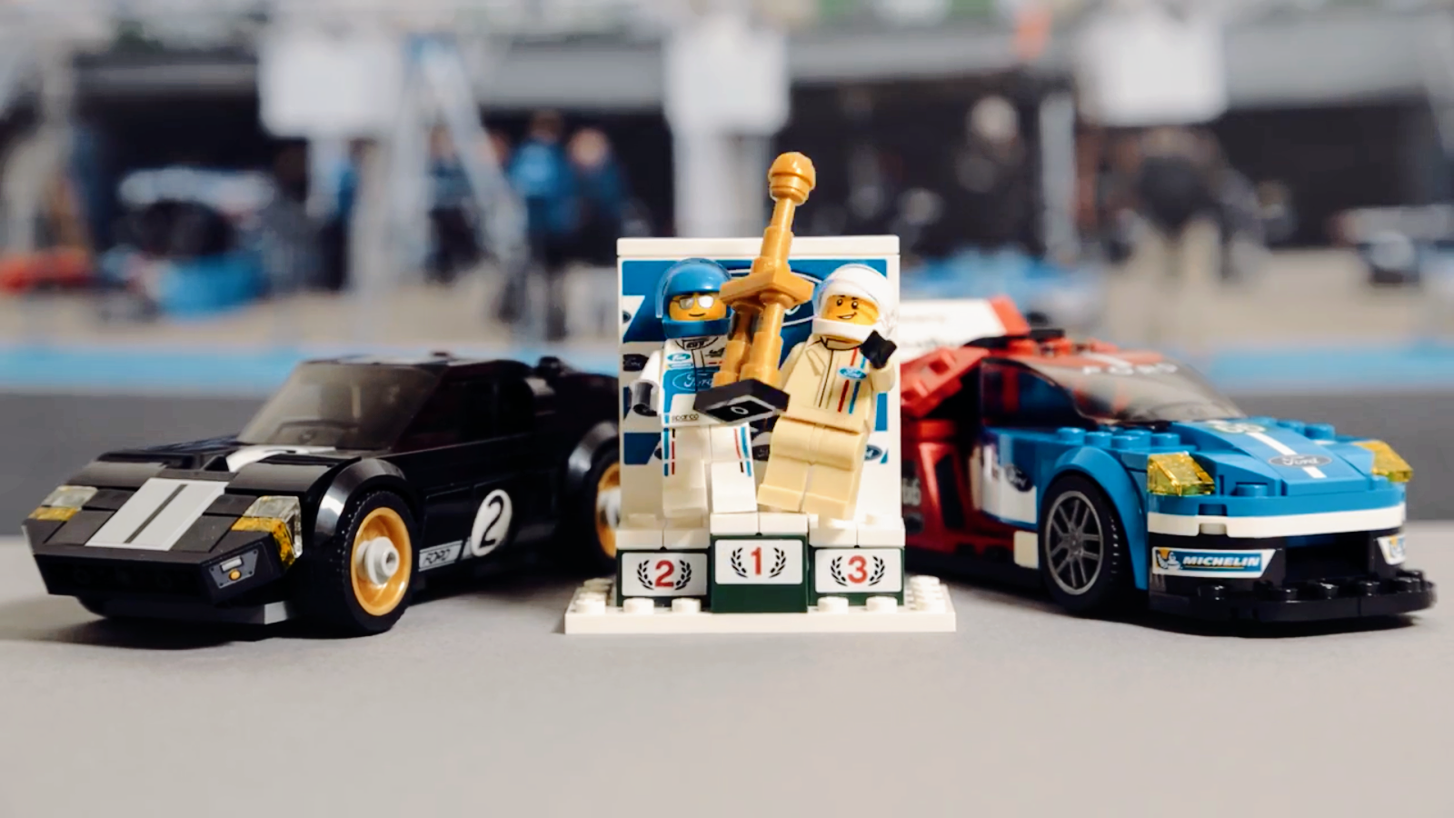 Designed to Inspire Tomorrow's Racing Drivers, Engineers and Designers – Ford's Le Mans Victories in LEGO® Bricks